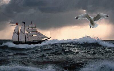 Sømandens våde grav ved Hudes Kaj